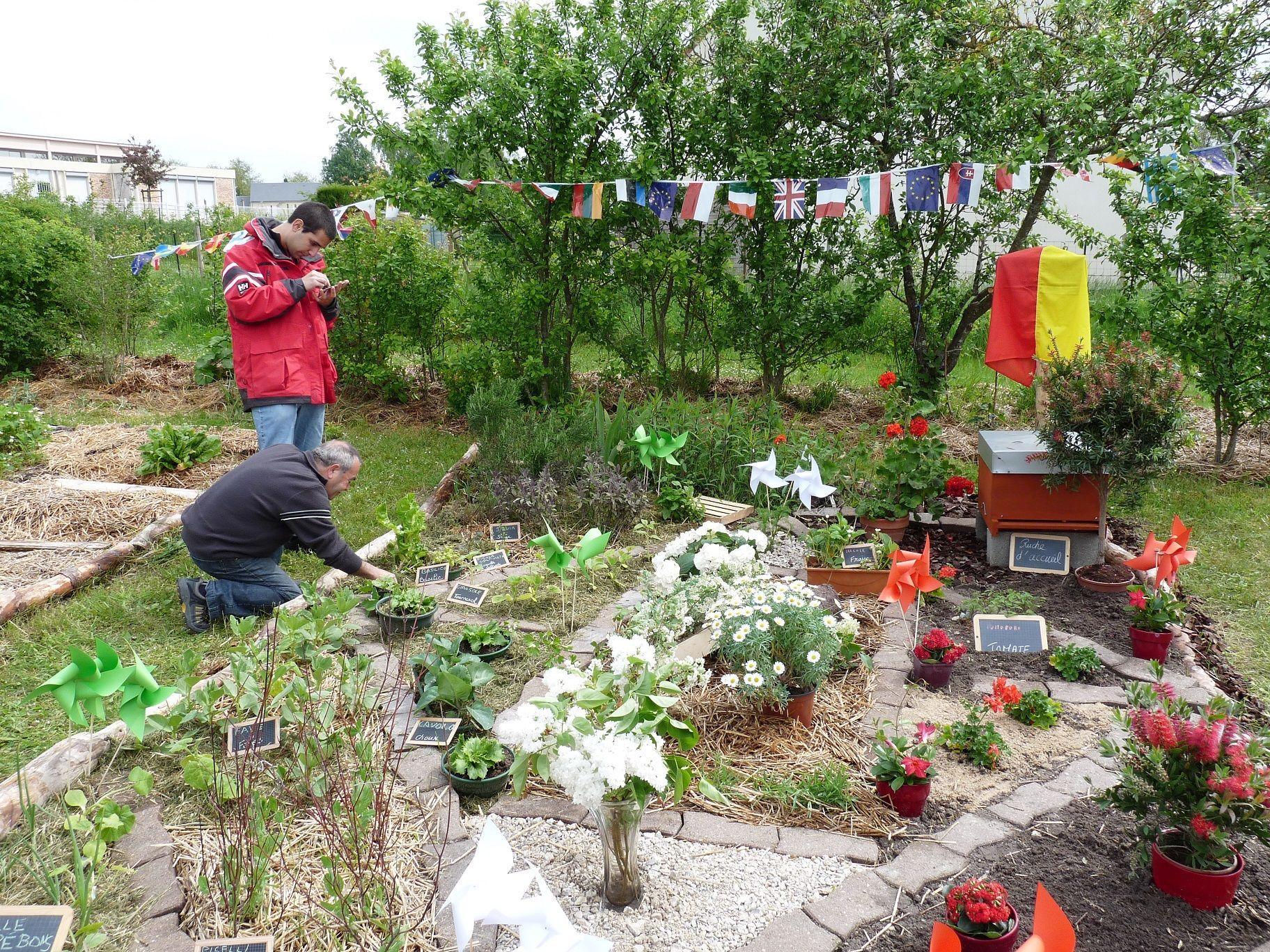 Le jardin italien for Jardin italien